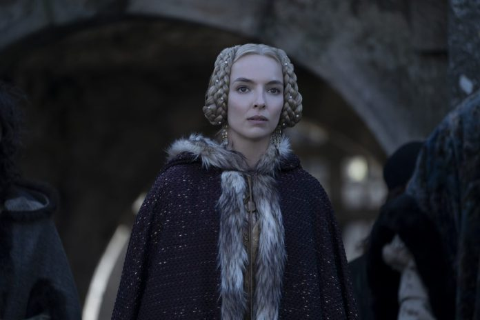 The Last Duel star Jodie Comer has braided hair