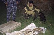 Сотрудниками УФСИН по Чечне обнаружен схрон с оружием и боеприпасами