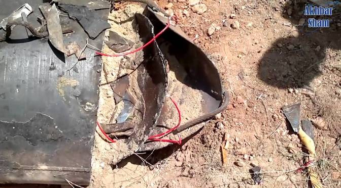 Jaish al-Muhajireen wal-Ansar Footage Of Aleppo Barrel Bombs