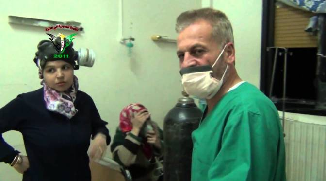 Syria: Kafr Zita Doctor Explains Chemical Attack Symptoms In English