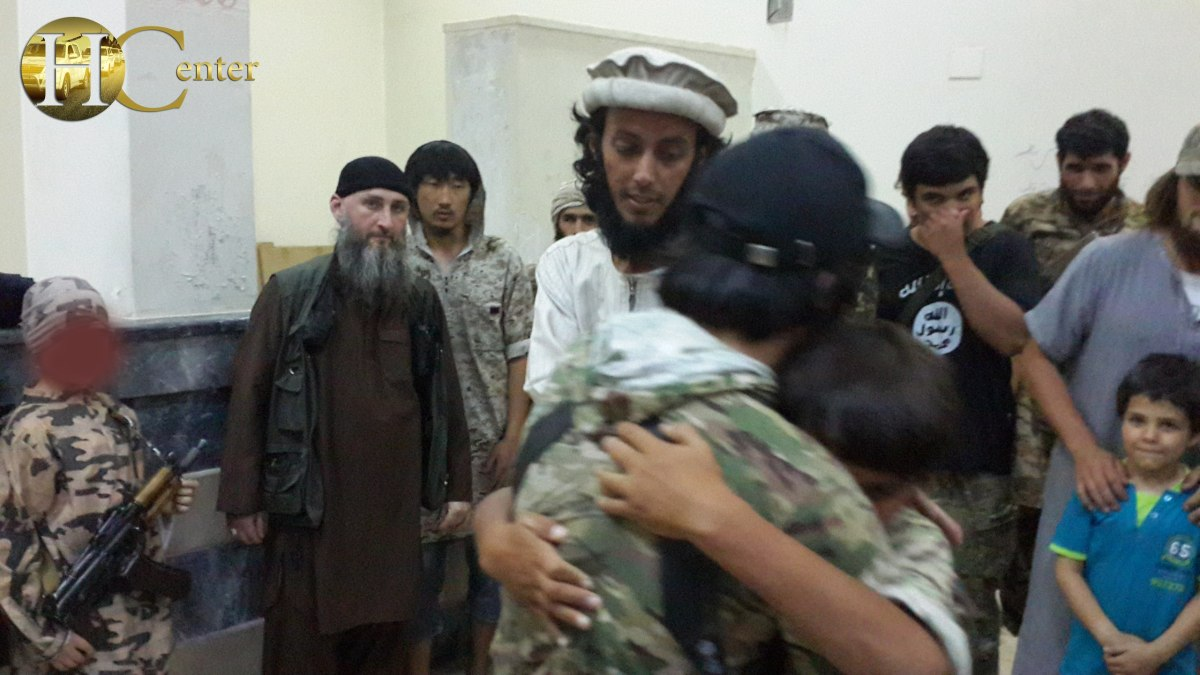Arab From Islamic State's Uzbek Sabri Jamaat Is Tabqa Suicide Bombing