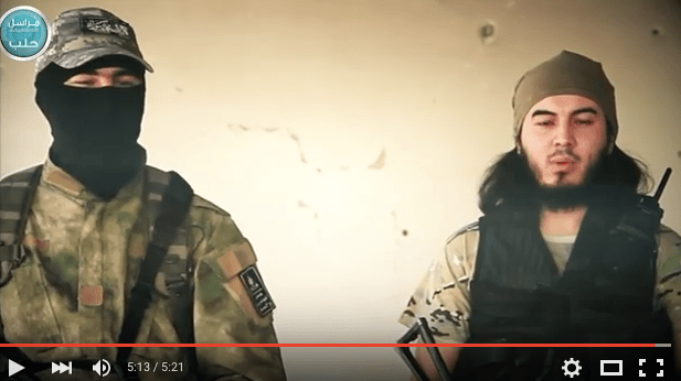 Liwa Al-Muhajireen Appear In New Nusra Video: 'Syria Is The Graveyard Of The Occupiers'