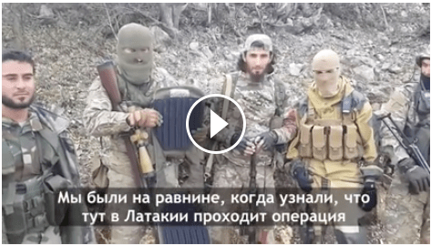 Ajnad Al-Kavkaz Find Machine Gun & Bullet Proof Vest Belonging to 'Sulimov' in Latakia