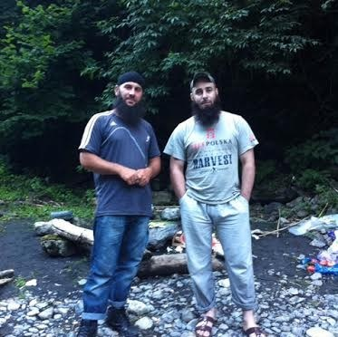 Photos of Salakhuddin Shishani & Akhmad Chatayev In Pankisi Before Lopota Gorge Incident