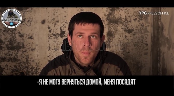 Video: Russian IS fighter from Kaspiysk, Dagestan arrested trying to cross into Turkey