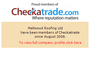 Checkatrade information for Mallwood Roofing Ltd