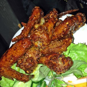 Chicken wings at Pok Pok - Portland, Oregon