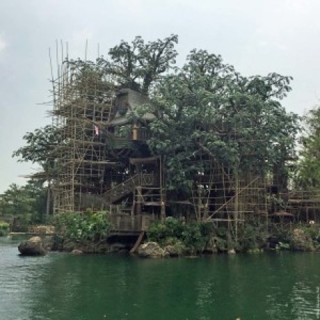Tarzan's Treehouse in Adventureland - Hong Kong Disneyland, Hong Kong, China