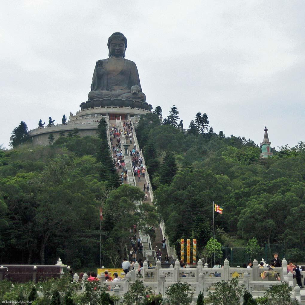 Tian Tan Buddha on Lantau Island - Hong Kong, China