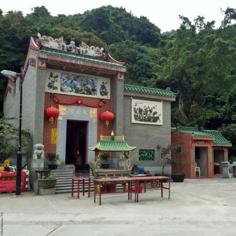 Tin Hau Temple in Sok Kwu Wan, Lamma Island - Hong Kong, China