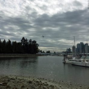 Seaplane at Stanley Park - Vancouver, British Columbia, Canada
