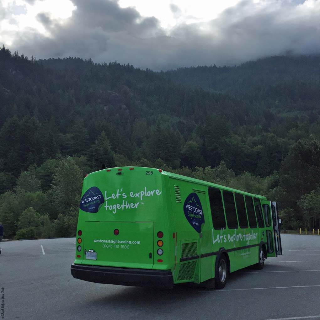 Gray Line Tour Bus - British Columbia, Canada
