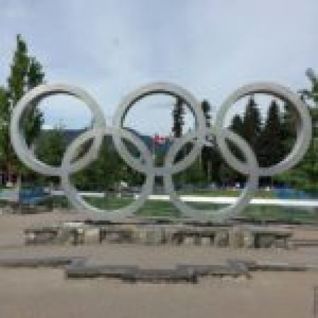 Whistler Olympic Rings - Whistler Village, Whistler, British Columbia, Canada