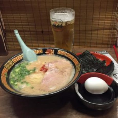 Ramen at Ichiran - Osaka, Japan