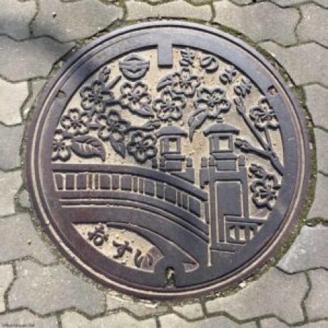Manhole Cover - Kinosaki, Japan