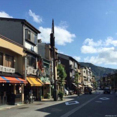 Street in Kinosaki, Japan