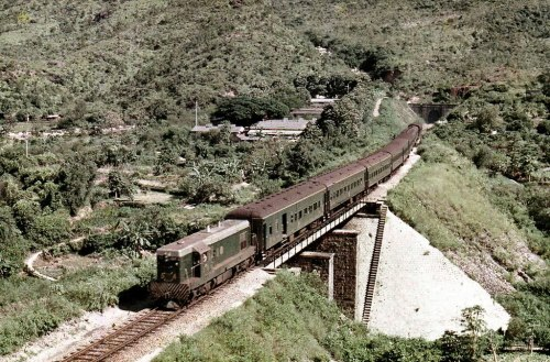 Kowloon Canton Railway KCR - EMD G12 locomotive No. 54