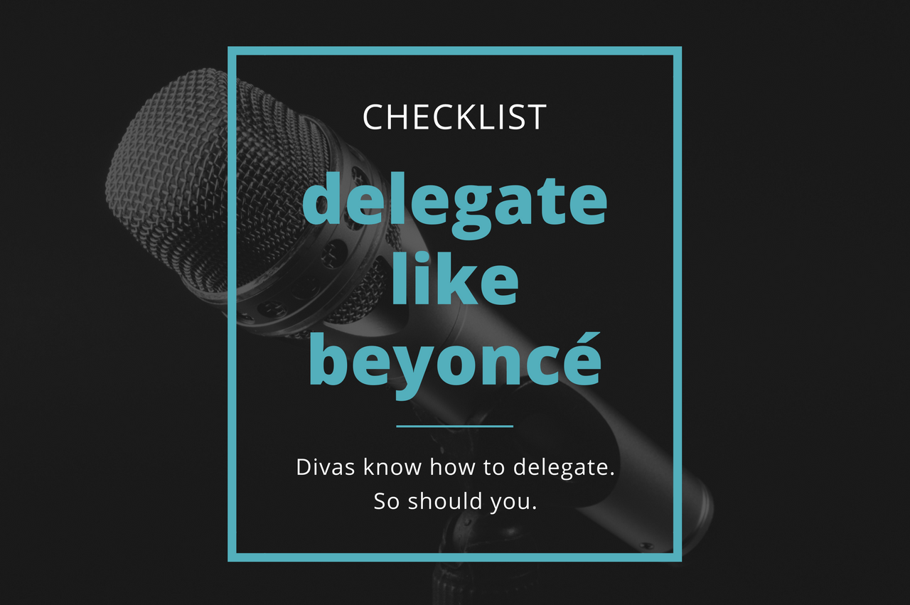 delegate like beyonce checklist Reverse Sandwich CONTRACTS