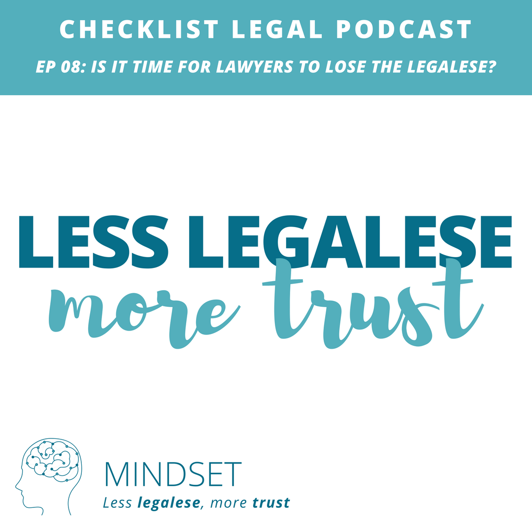 e08 Mindset -Checklist Legal Podcast with Verity White 2018