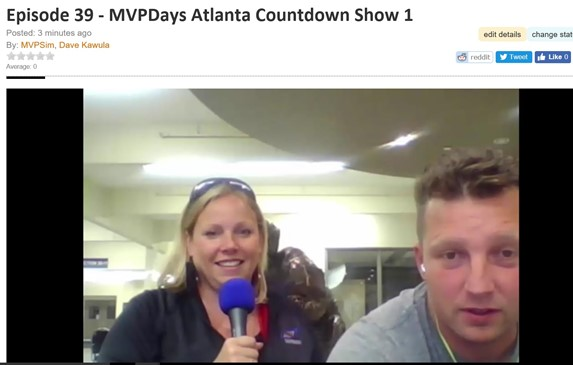 MVPDays North American Community Roadshow – Countdown Show #1