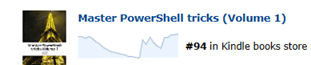Our PowerShell eBook is available… for Free (72 hours)!