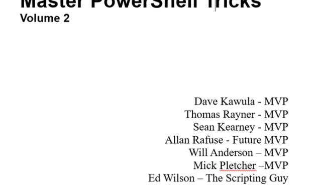 Master PowerShell Tricks – Volume 2