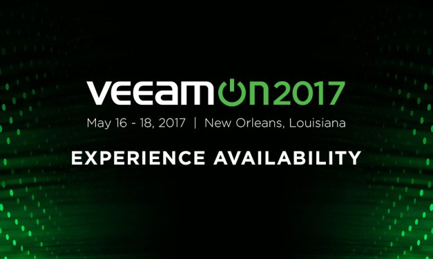 The Worlds Largest Availability Conference – VeeamOn, May 16-19, New Orleans