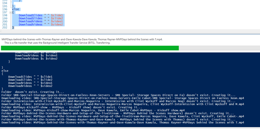 Dave's Cool Tools Part 2 Channel 9 #PowerShell download Script  #mvphour #Canitpro @CH9 @vladcatrinescu