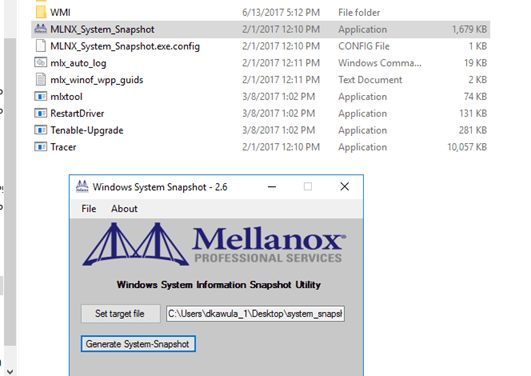 Deploying Storage Spaces Direct – Part 30 – @MellanoxTech System Snapshot 2.6 Documentation #StorageSpacesDirect #MVPHour #HyperV