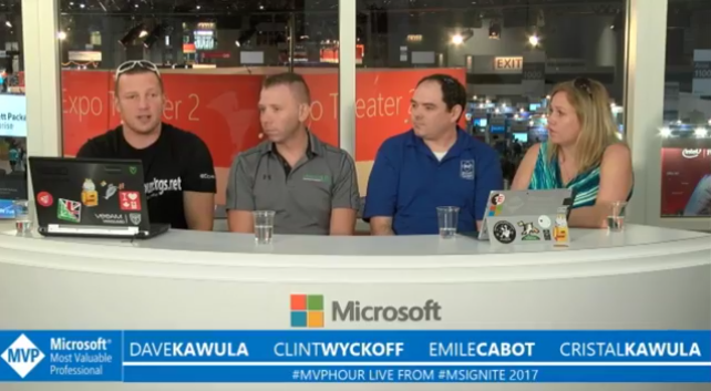 #MVPHour live from #MSIgnite 2017 – Podcast Center