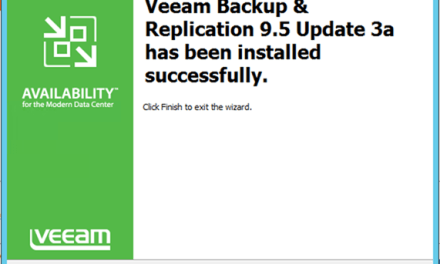 INSTALL BACKUP & REPLICATION 9.5 UPDATE 3a #Azure #VEEAM #WINDOWSSERVER #MVPHOUR