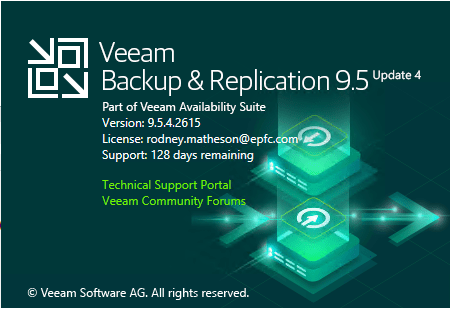INSTALL BACKUP & REPLICATION 9.5 UPDATE 4 #Azure #VEEAM #WINDOWSSERVER #MVPHOUR