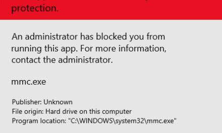 The Case of MMC.exe being blocked on Server 2019 – #WindowServer #MVPHour