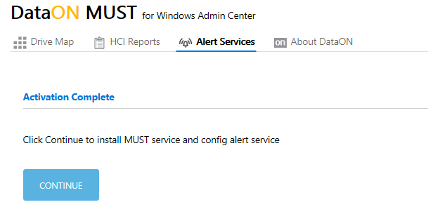 Activating DataON MUST via Windows Admin Center for #StorageSpacesDirect