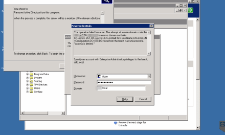 HOW to FIX Access Denied Error in Demote DC server #Active Directory #WINDOWSSERVER # #MVPHOUR