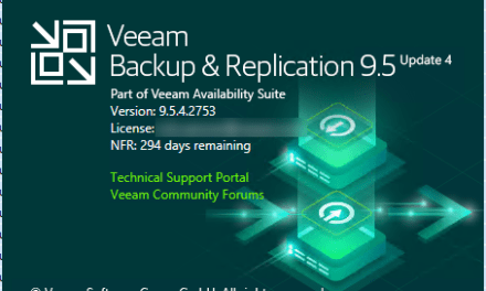 INSTALL VEEAM BACKUP & REPLICATION 9.5 UPDATE 4a #Azure #VEEAM #WINDOWSSERVER #MVPHOUR