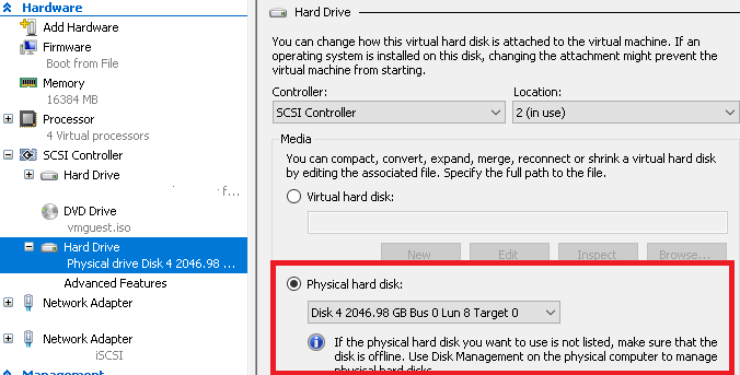 Migrating VM's with Passthrough and ISCSI disks to #StorageSpacesDirect using #Veeam Agent for Windows #MVPHour