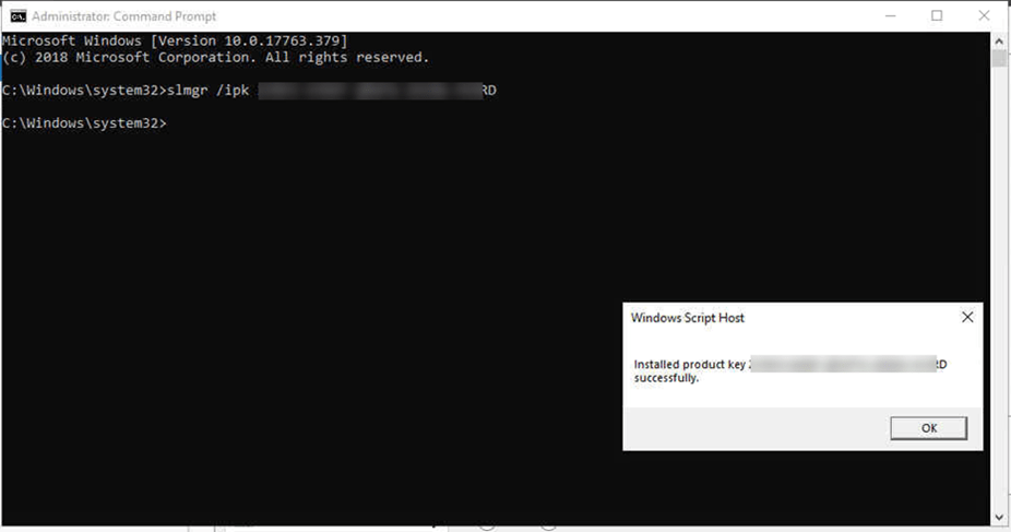 windows 10 mak key 2018