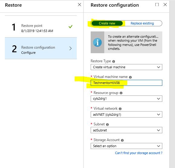 Restoring your Azure Virtual Machine to an Alternate Location – #MVPHour #AzureBackup