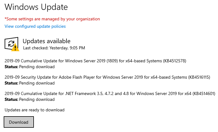 Critical Patch Tuesday for 2-Node #AzureStackHCI Customers