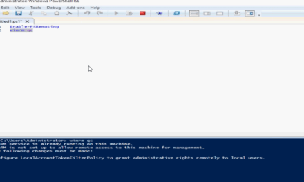 The Case of Winrm.exe QC hanging in Windows Server 2019 – #PowerShell