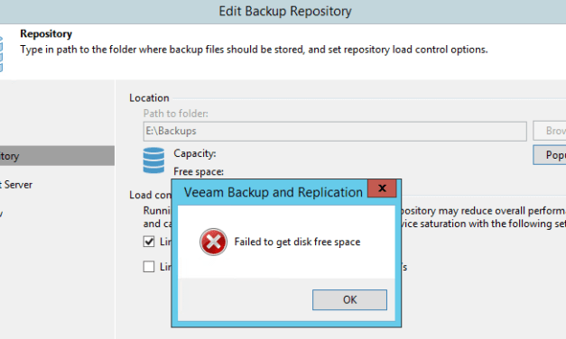 The Case of Veeam Failed to Process Replication Task Error: Boost::FileSystem::Create_Directory
