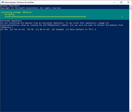 How to use PowerShell cmdlets to disable TEAM for all users of Office 365 #PowerShell #TEAM #Office365 #mvphour