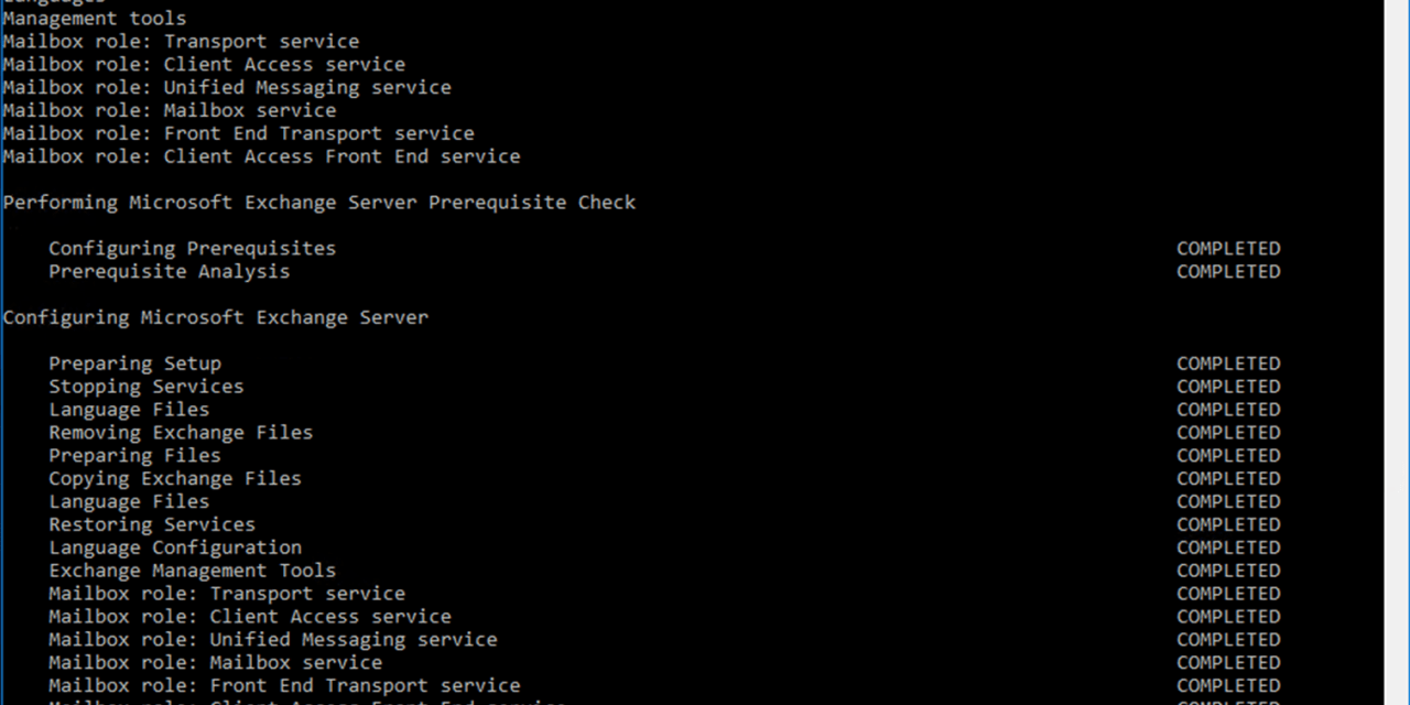 How to Install (or Upgrade) Cumulative Update 18 for Exchange Server 2016 #Exchange #Exchange 2016 #Microsoft #mvphour
