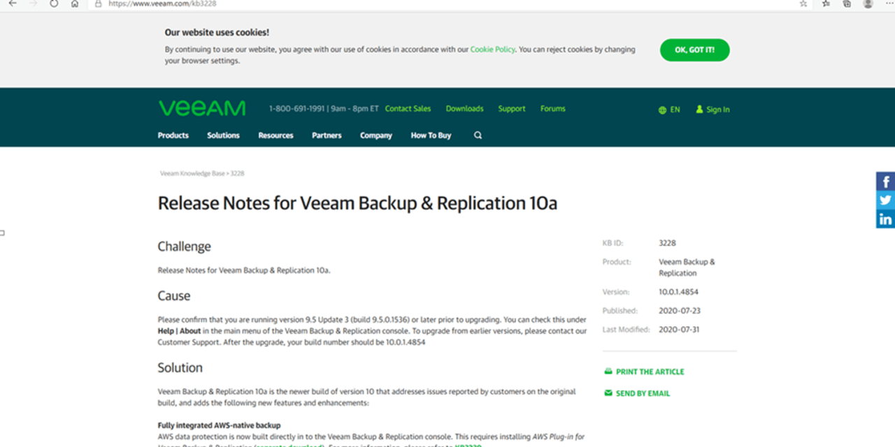 How to Install (Upgrade) Veeam Backup and Replication V10a #Veeam #VBR 10a #Hyper-V #WINDOWSERVER #Azure #AWS #NAS #VMWARE #vCloud #Azure Stack #Linux