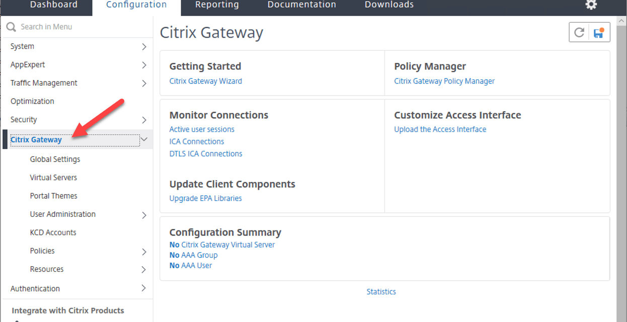 How to Configure Citrix ADC with Virtual Apps