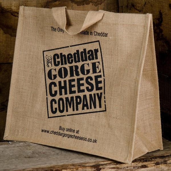 Cheddar Gorge Cheese Company Jute Bag
