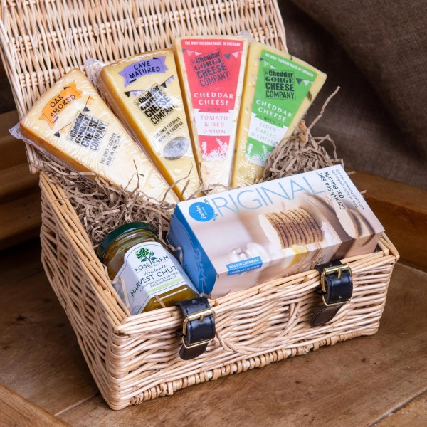 Four Cheese Hamper Cheddar Gorge Cheese Company