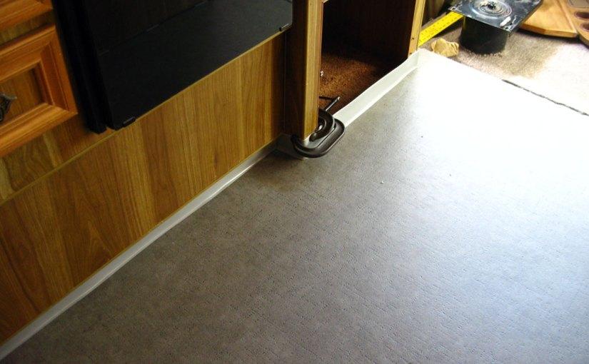 New Vinyl Floors Installation