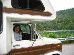A ride around Shasta Lake